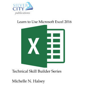 Learn to Use Microsoft Excel 2016 Cover