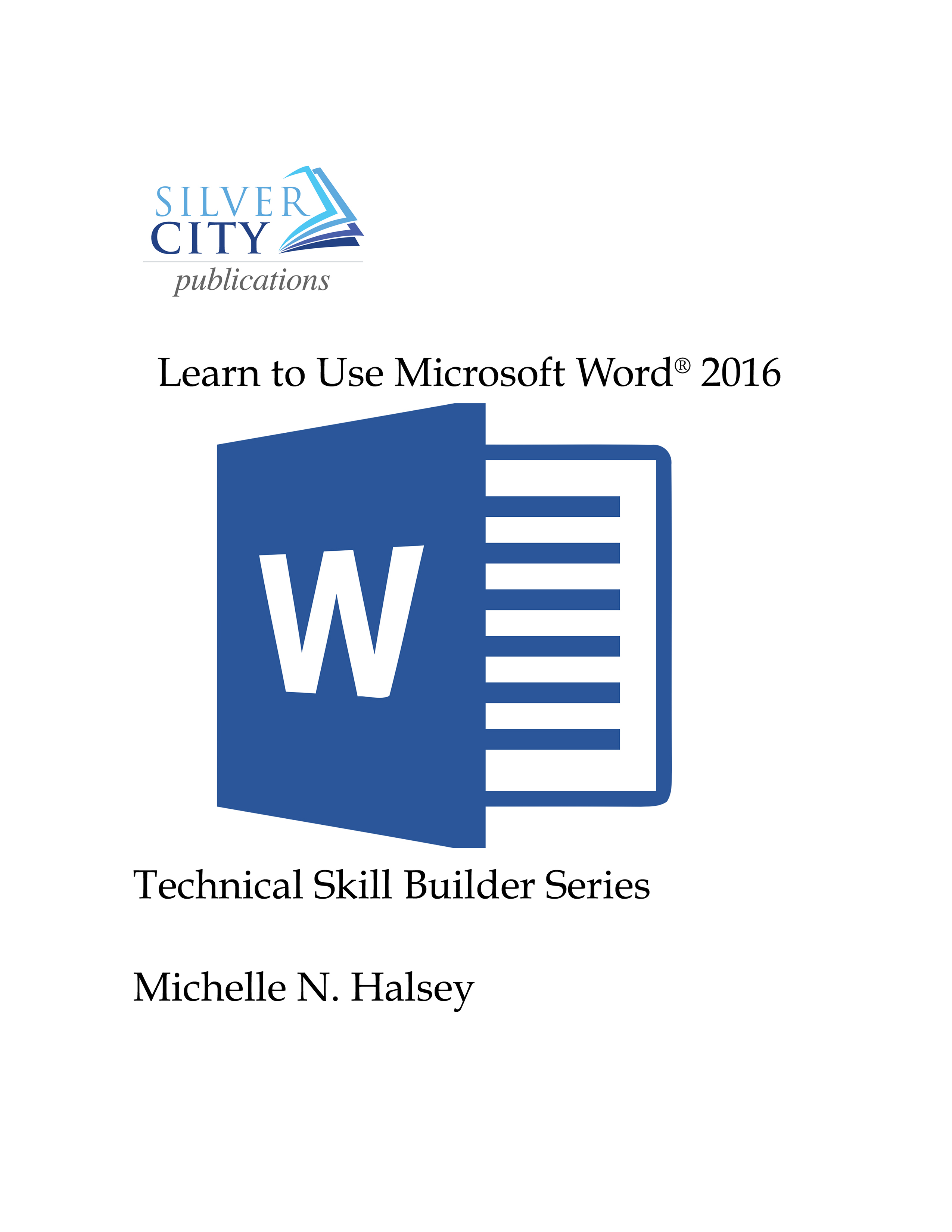 Learn to Use Microsoft Word 2016 Cover